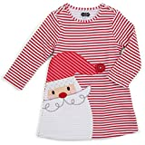 6 month mud pie - Mud Pie Baby Holiday Dress Girl, Red Santa, 0-6 Months