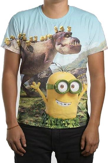 T shirt t-shirt  T-rex  minions