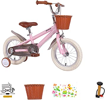AI-QX 14 Pulgadas Bicicleta Infantil Estudio Aprendizaje Montar a ...