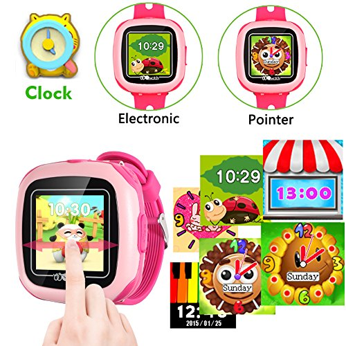 Kids Game Smart Watch - Symfury Smartwatch for Boys Girls Toddler with Pedometer Camera Alarm Clock Stopwatch 1.5'' Touch GPS Activity Fitness Tracker Children Sports Watches Learning Toys 3-12 Years by Symfury (Image #5)