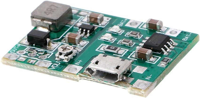 Anjuley Li-ION 18650 3.7V 4.2V Lithium Li-ION Chargeur Conseil DC-DC Step Up Module Boost
