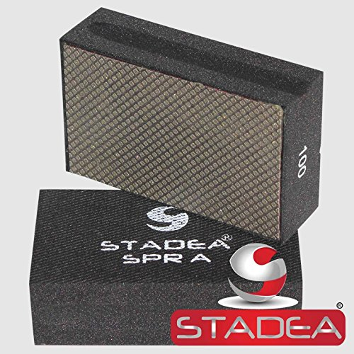 Stadea HPW109K Diamond Hand Polishing Pads - Marble Glass Concrete Stone Terazzo Polishing, 7 Pads Set by STADEA (Image #3)