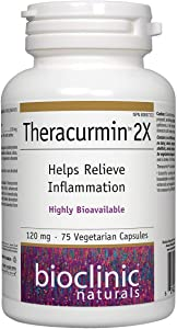Bioclinic Naturals - Theracurmin 2X 120mg 75 V-Caps