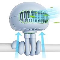 SmartDevil-kinderwagenventilator, draagbare ventilator met 3 snelheden en flexibel statief, 60 ° draaibare persoonlijke…