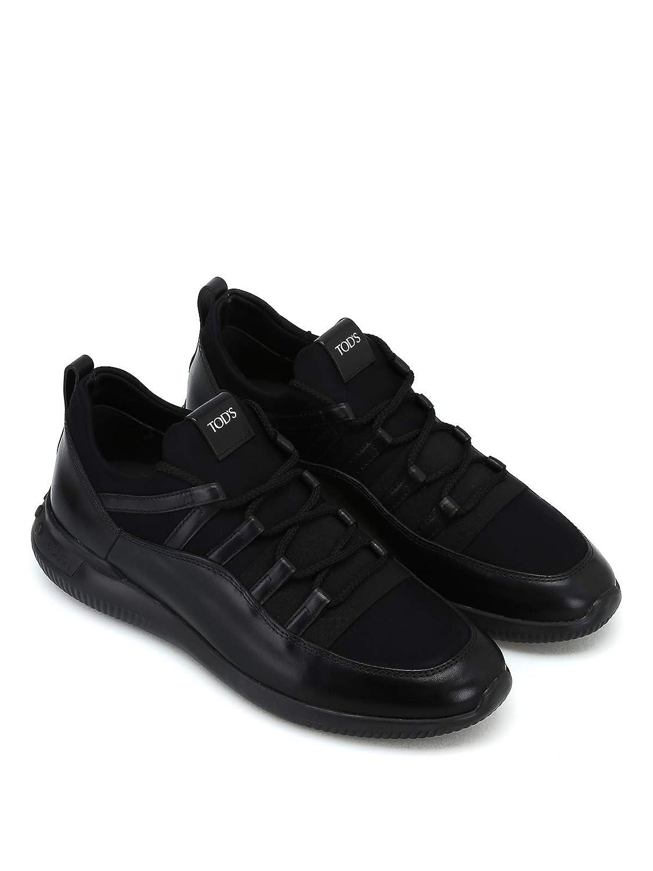 No Scuba Tessuto Code In E Sneaker Pelle Tod's Effetto LqMzpSVGU