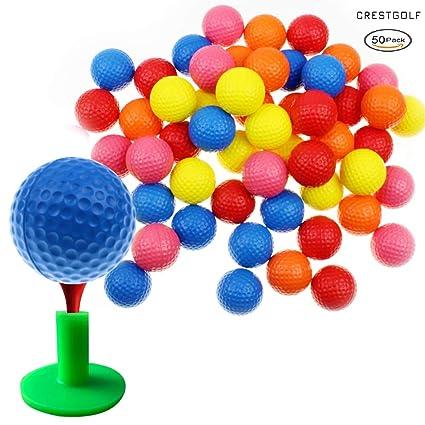 Crestgolf Bola de práctica de Esponja de Espuma, 5 Colores para tu ...
