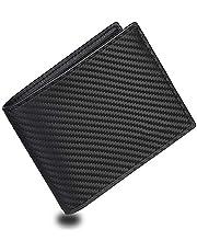 eYotto Men Slim Wallets Cash Front Pocket Wallets RFID Blocking Wallet Minimalist Bifold Leather Wallets with 2 ID Window