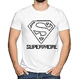 Camiseta 'Superpadre' en Todas Las Tallas - Regalo Original para Padres