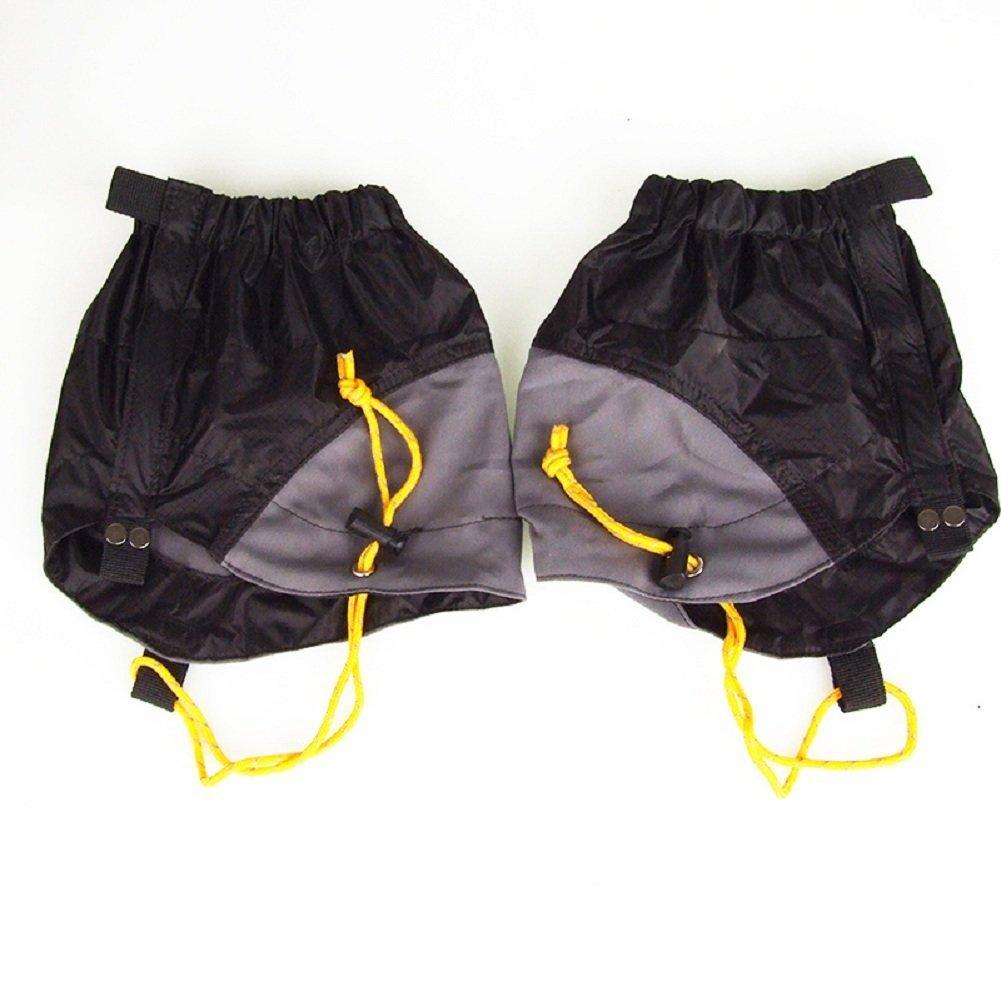 UHNT Outdoor Waterproof Essential Ankle Walking Gaiters (1 Pair) -Black by UHNT (Image #2)