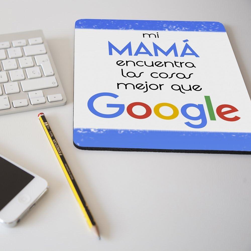APRIL Nueva Alfombrilla para ratón Regalo Original día de la Madre Mi mamá Encuentra Las Cosas Mejor Que Google