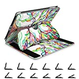 Fintie iPad 2/3/4 Case - [Multi-Angle Viewing] 360 Degree Rotating Smart Stand Cover with Auto Sleep / Wake feature for Apple iPad 4th Gen with Retina Display / iPad 3 / iPad 2, Love Tree