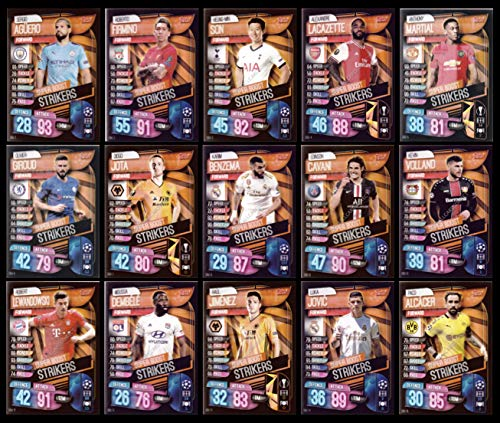 MATCH ATTAX 19//20 FULL SUBSET OF ALL 15 SUPER BOOST STRIKERS