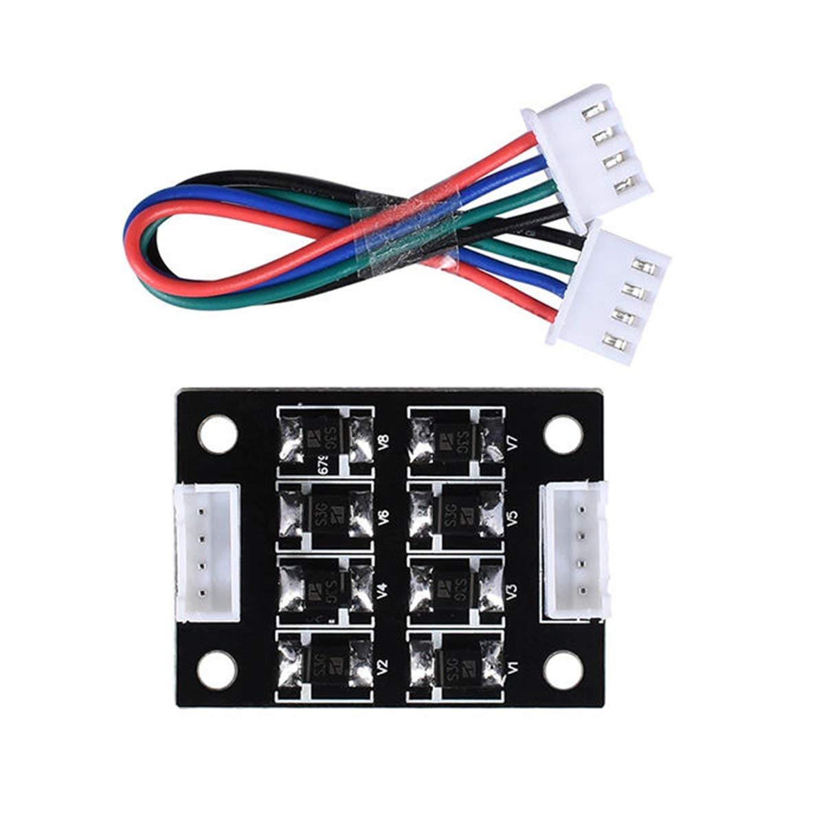 New TL-Smoother V1.0 Addon Module for 3D pinter Motor Drivers 3D Printer Accessories BIQU TL-Smoother V1.0 Addon Module JullyCAnnice