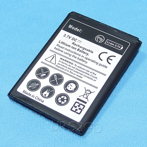 High Power 1400mAh Replacement Standard Extra Battery for Alcatel Cingular Flip 2 OT-4044O AT&T Mobile Phone
