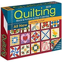 Quilting Block & Pattern a Day 2019 Calenar