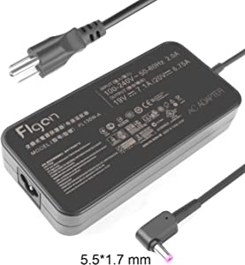 135W 19V 7.1A Flgan Power Adapter for Predator Helios 300 Acer g3-571 an515-41 an515-42 an515-51 an515-52 an515-53 g3-572 g3-573 ph315-51 vx5-591G vn7-792 vn7-572 vn7-592 vn7-592G vn7-792G u5-610