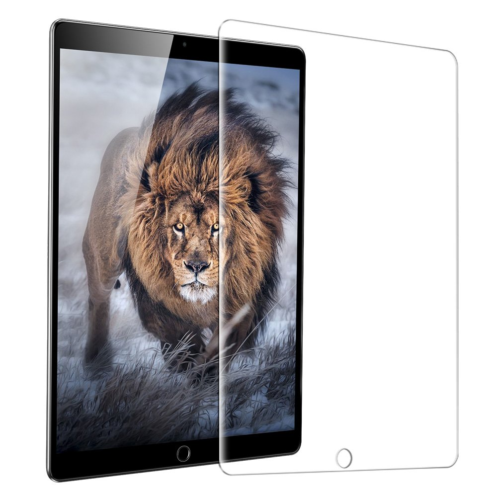 ESR iPad Pro 12.9 Screen Protector, [Tempered Glass] Ultra Clear HD Protective Film Bubble Free Case Friendly Screen Protector for Apple iPad Pro 12.9 inch Tablet (2015 & 2017 Released)
