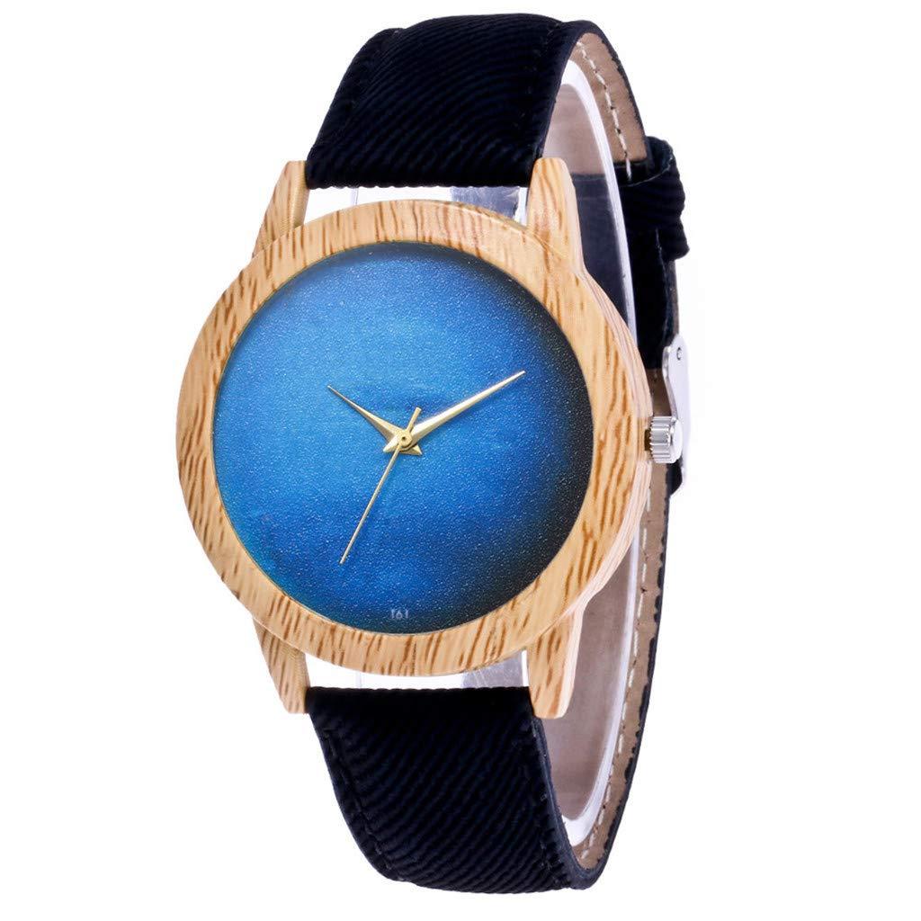 Rcool Relojes suizos relojes de lujo Relojes de pulsera Relojes para mujer Relojes para hombre Relojes deportivos,Correa de cuero analógico cuarzo reloj ...