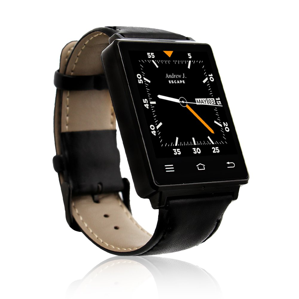Indigi NEW 2017 3G Android 5.1 Smart Watch Phone (GSM Factory Unlocked) Maps + WiFi + GPS + Google Play Store by inDigi (Image #3)