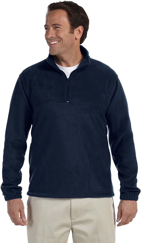 M980 Quarter-Zip Fleece Pullover Harriton 8 oz