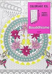 Bouddhisme: Coloriage XXL