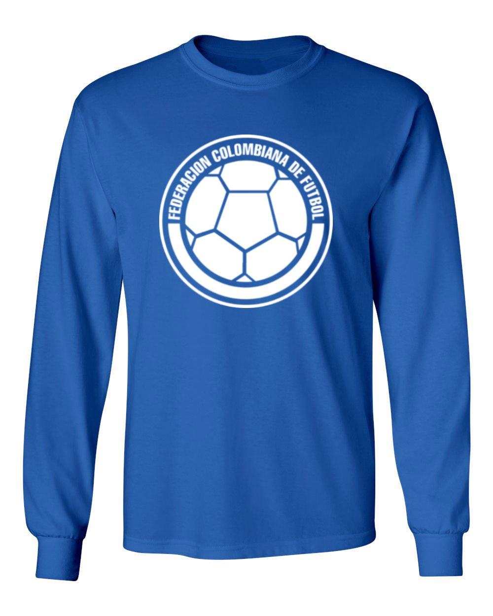 be392aae692 Amazon.com  Tcamp Colombia 2018 National Soccer  14 Luis MURIEL World  Championship Men s Long Sleeve T-Shirt  Sports   Outdoors