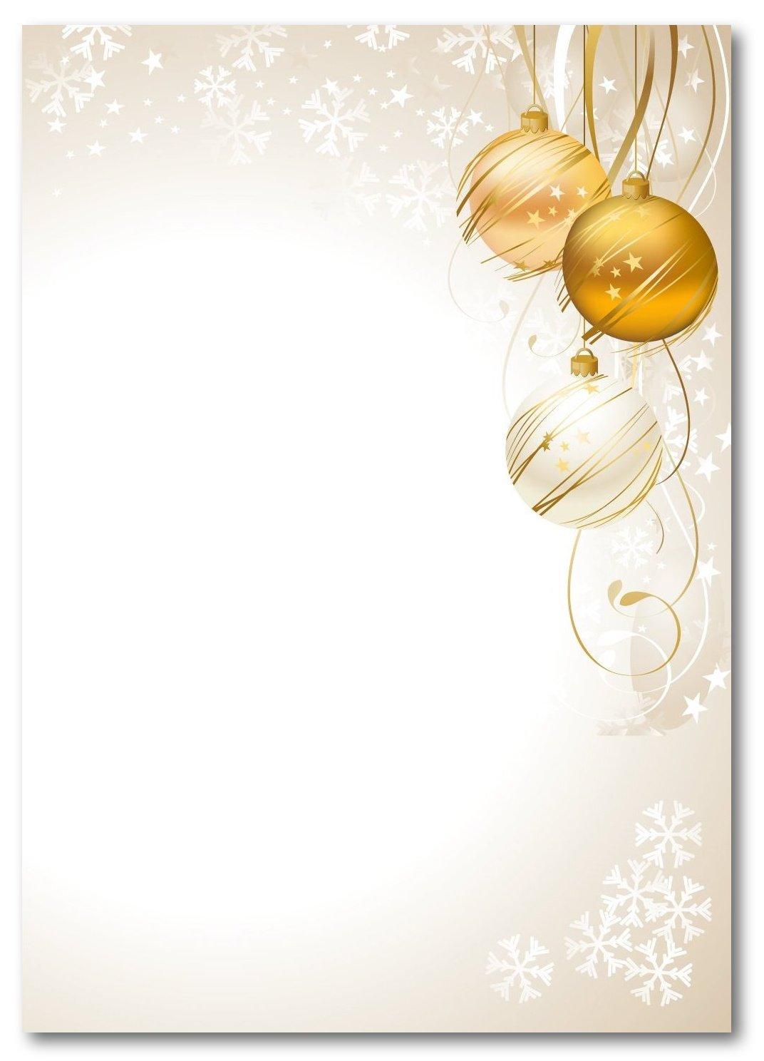 LYSCO Motivpapier Briefpapier (Weihnachten-5001, A4, 100 Blatt ...