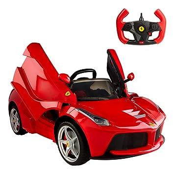 RASTAR- Coche batería RC Ferrari LaFerrari de 12V, 2.4G (ColorBaby 85242): Amazon.es: Juguetes y juegos
