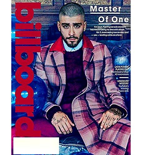 Billboard Magazine (November 11, 2017) Zayn Malik, Luis Fonsi, Daddy Yankee, Taylor Swift