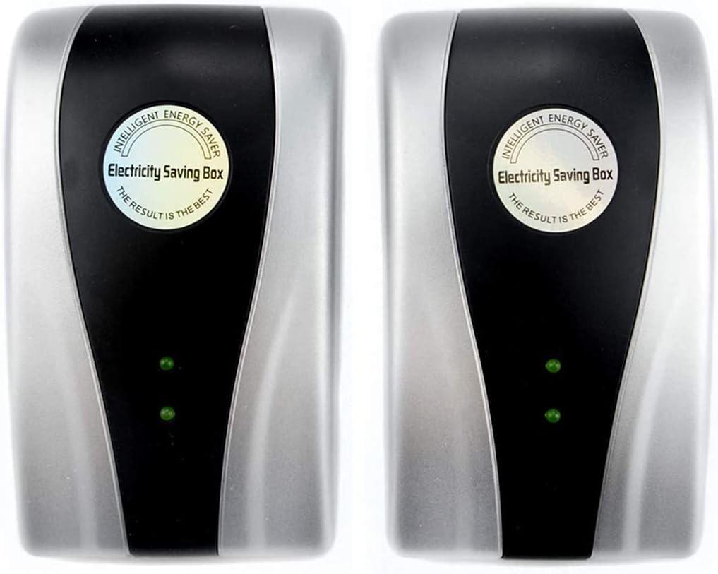 Power Save Energy Saver Electricity Saving Box Household Office Market Device Electric Smart US Plug 90V-250V 30kW, US Plug (2 Pack)