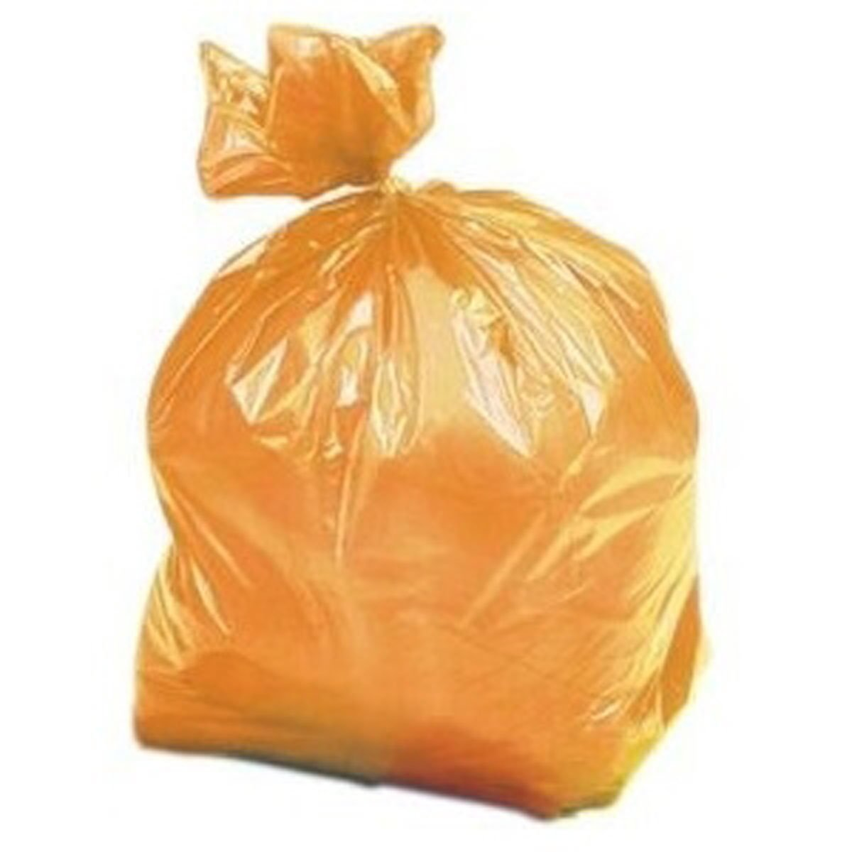 Janilec Orange Refuse Bags 130g - Pack of 200