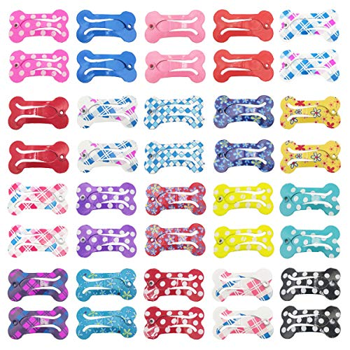 DeaLott 40PCS/20Pairs Pet Hair Clips 1