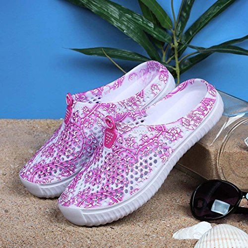 Pink Shoes Sandals Beach Out Hot Womens Loafers Hollow Flip Fheaven Shoes Flops Casual w751Ynx