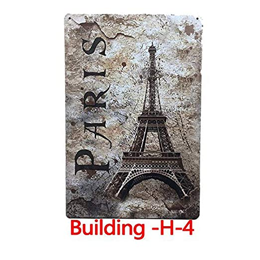 Fluse The Eiffel Tower in Paris Souvenir Vintage Metal Art ...