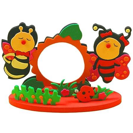 Diy Toys Frame Foam Craft Kids Child Creative Activity Easy Crafts