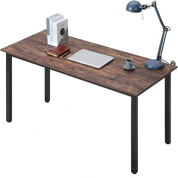 Bonzy Home 55 Inch Industrial Computer Desk