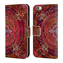 Official Brenda Erickson Root Chakras Leather Book Wallet Case Cover For Apple iPhone 6 / 6s
