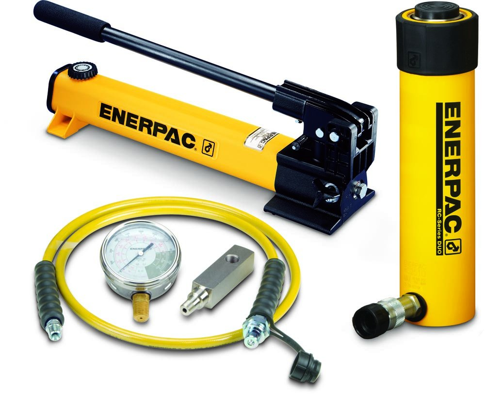 Enerpac SCR-252H Cylinder and Pump Set with RC252 Cylinder and P392 Hand Pump