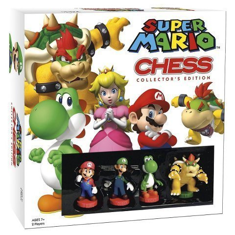 New Super Mario Chess Collectors Edition Board Game