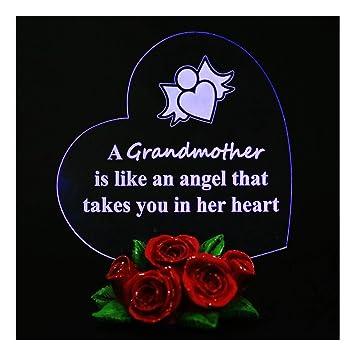 giftgarden personalized grandma nana nan gifts keepsake presents led