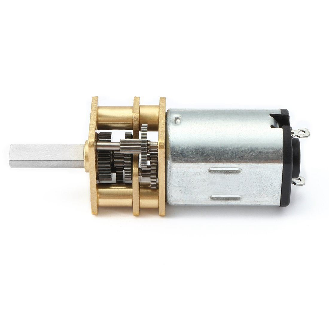 TOOGOO CC 6V 150 tr//min Moteur de reduction de micro-vitesse Mini moteur de boite dengrenage avec 2 broches pour bricolage Jouet de moteur de modele de voiture de robot a telecommande
