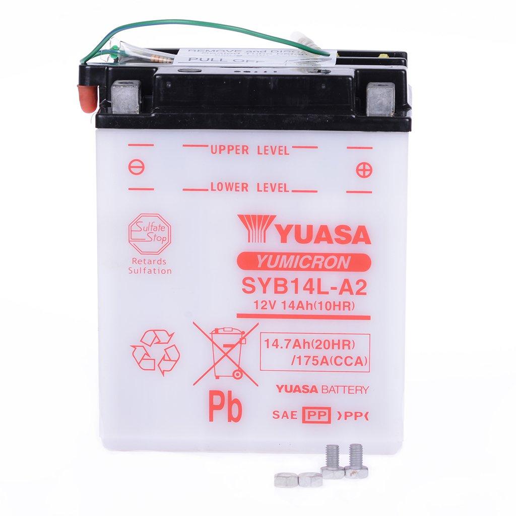Batería 12 V 14 Ah syb14l de A2, húmedo Yuasa DIN 51411 para ...