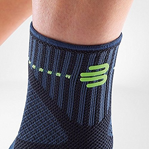 Bauerfeind Sports Ankle Support Dynamic - Ankle Compression Sleeve for Freedom of Movement - 3D AirKnit Fabric for Breathability - Premium Quality & Washable (M, Black) by Bauerfeind (Image #5)