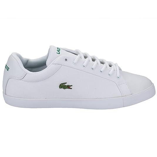 Zapatillas de Pique para Hombre Lacoste Grad en Color Blanco - UK 9: Lacoste: Amazon.es: Zapatos y complementos