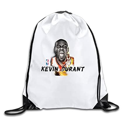 cd26c342e64 Kevin Durant 35 White Lightweight Drawstring Gym Bag Backpack Size   Amazon.ca  Home   Kitchen