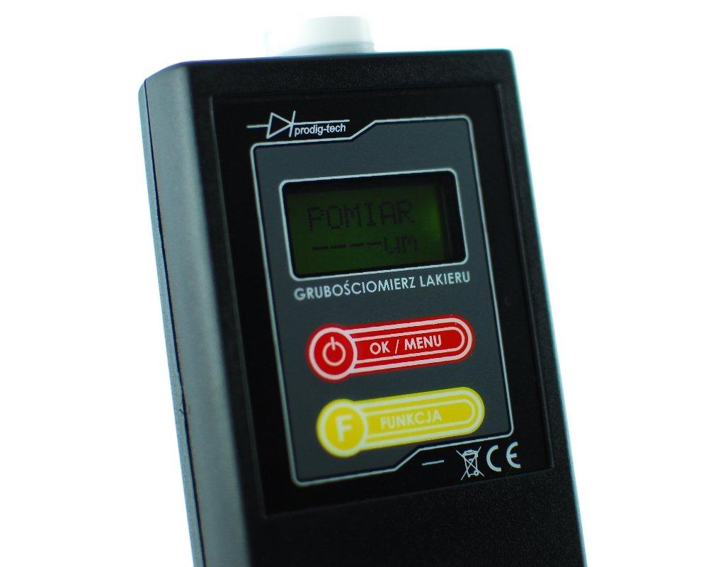 Prodig-Tech GL-1 extremadamente precisa Digital coche medidor de espesor de capa de pintura calibre comprobador de revestimiento