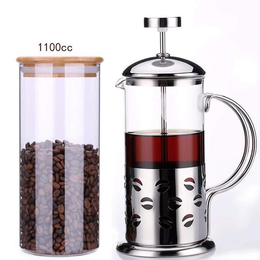 Acquisto Caffettiera Home Brew caffè in Acciaio Inossidabile refrattario in Vetro Macchina da caffè con Filtro (caffè + Sacchetto sigillato) (capacità: 350 CC) Prezzi offerta