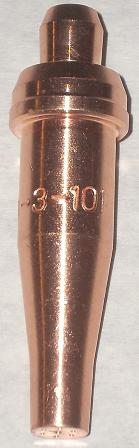 2 Acetylene Cutting Torch Tips 000-3-101 FIT VICTOR