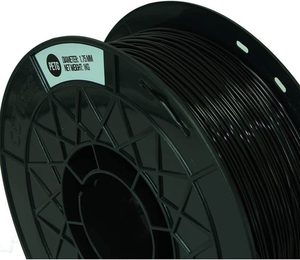 CCTREE 1.75mm PETG 3D Printer Filament 1kg Spool Ender 3 Pro,Tevo Anet 3D Printer Tran-Blue 2.2lbs for Creality CR-10