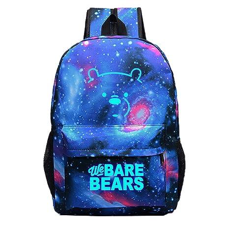 Juchen Impresión de Anime Bolsa de Estudiante Oxford Mochilas Escolares Juveniles Moda Backpack Amplias Mochila de